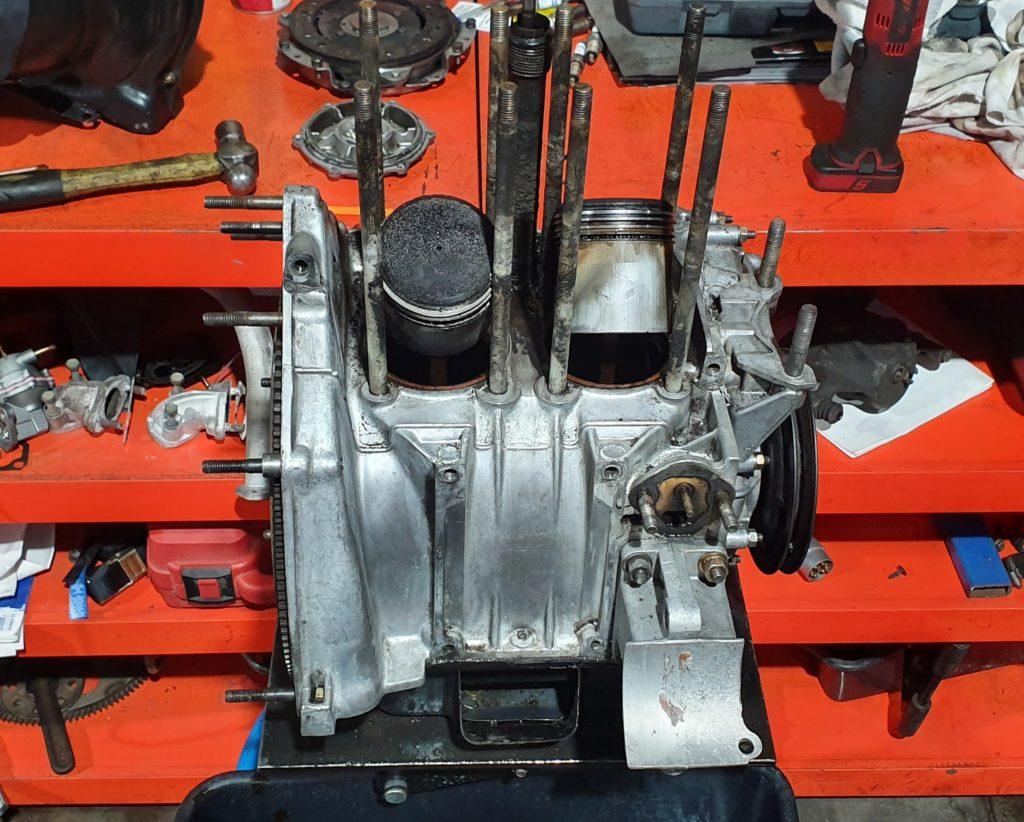 Fiat 500f engine rebuild