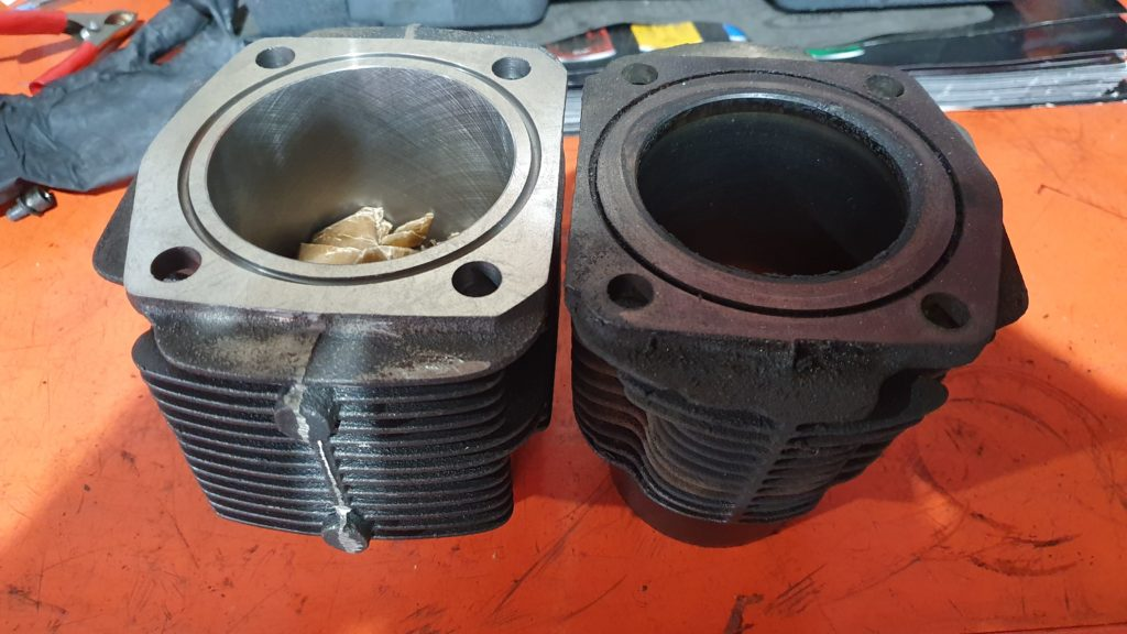 Classic Fiat 500F cylinder bore sleeve 650cc