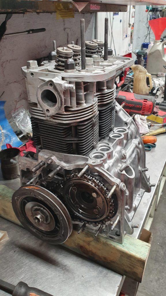 Fiat 500cc engine rebuild