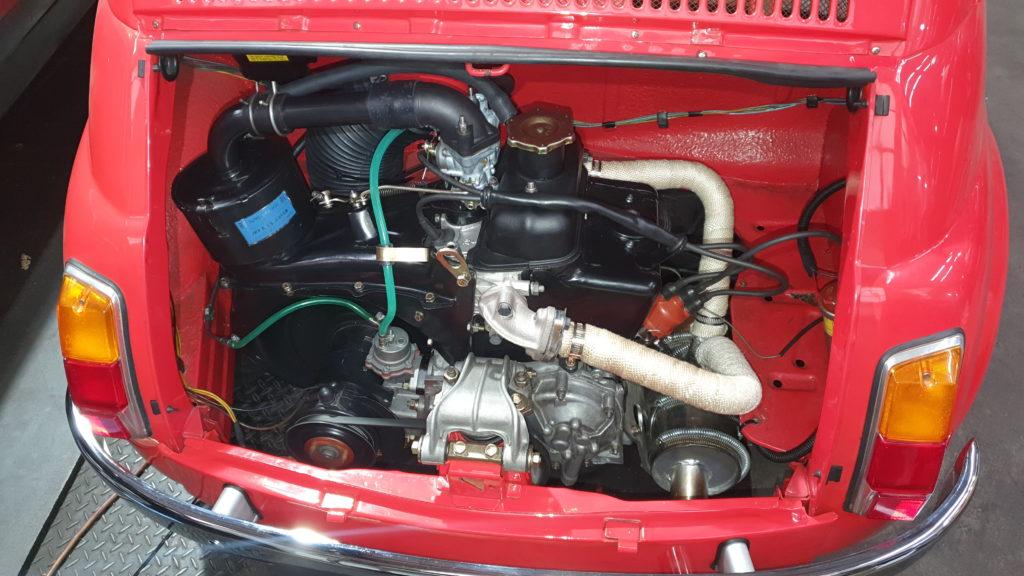 Fiat 650cc engine rebuild